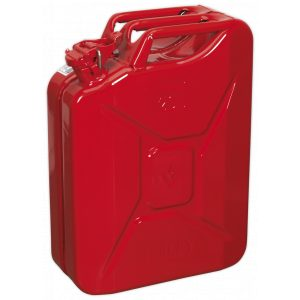 Sealey JC20 Jerry Can 20L - Red-0