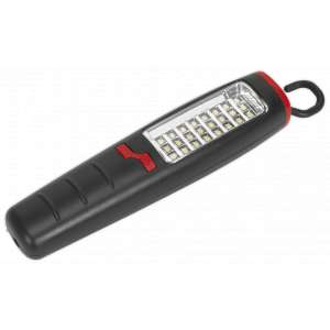 Sealey LED307 Rechargeable Inspection Lamp 24 SMD + 7 LED Lithium-ion-0