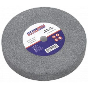 Sealey NBG150/GWF Grinding Stone Ø150 x 16mm 13mm Bore A60P Fine-0