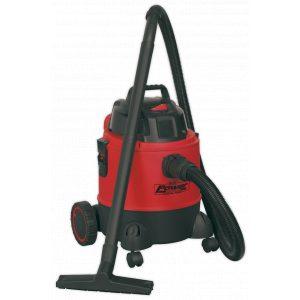 Sealey PC200 Vacuum Cleaner Wet & Dry 20L 1250W/230V-0