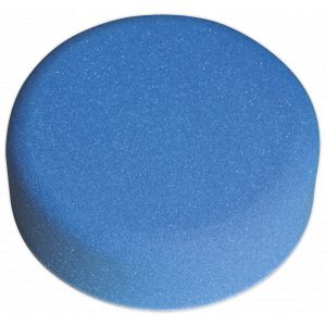 Sealey PTCCHV150B Buffing & Polishing Foam Head Hook-and-Loop Ø150 x 50mm Blue/Medium-0