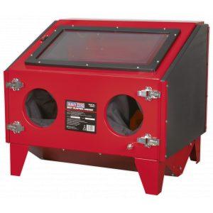 Sealey SB970 Shot Blasting Cabinet Double Access 695 x 580 x 625mm-0