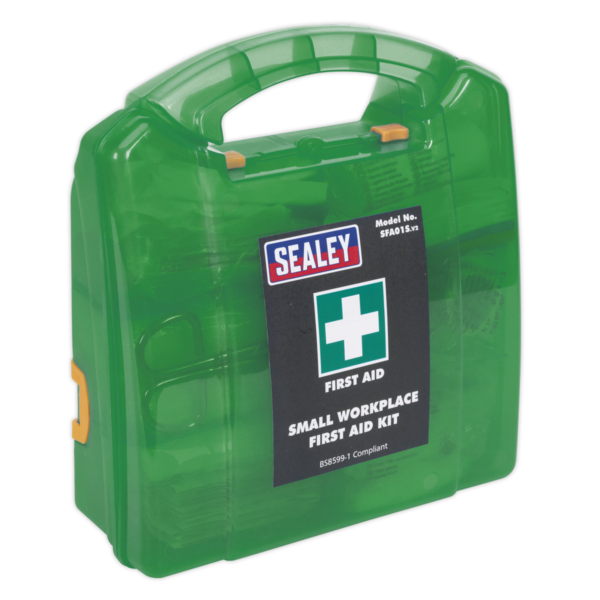 Sealey SFA01S First Aid Kit Small - BS 8599-1 Compliant-0