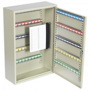 Sealey SKC100D Key Cabinet 100 Key Capacity Deep-0