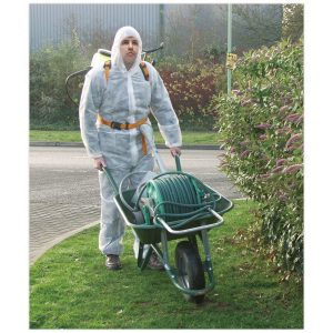 Sealey SSP267-XL Hooded Coverall General Purpose - Extra Large-0