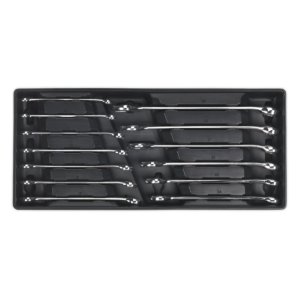 Sealey TBT01 Tool Tray with Combination Spanner Set 13pc Metric-0