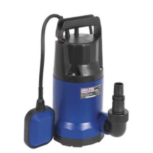 Sealey WPC250A Submersible Water Pump Automatic 250L/min 230V-0