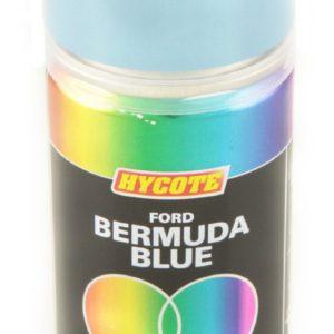 Hycote Ford Bermuda Light Blue Double Acrylic Spray Paint 150Ml Xdfd204-0