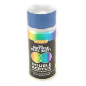 Hycote Ford Matisse Blue Metallic Double Acrylic Spray Paint 150Ml Xdfd217-0