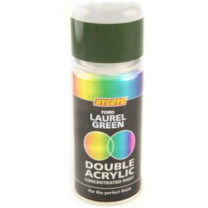 Hycote Ford Laurel Green Double Acrylic Spray Paint 150Ml Xdfd305-0