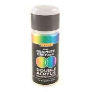 Hycote Ford Graphite Grey Metallic Double Acrylic Spray Paint 150Ml Xdfd403-0