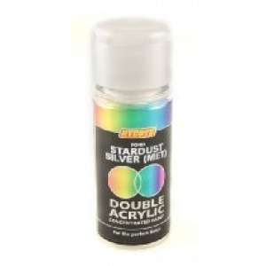 Hycote Ford Stardust Silver Metallic Double Acrylic Spray Paint 150Ml Xdfd412-0