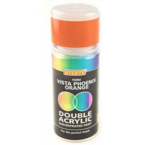 Hycote Ford Vista Phoenix Orange Double Acrylic Spray Paint 150Ml Xdfd529-0