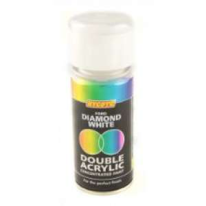 Hycote Ford Diamond White Double Acrylic Spray Paint 150Ml Xdfd601-0
