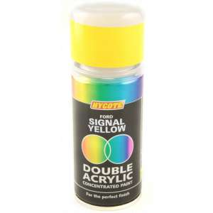 Hycote Ford Signal Yellow Double Acrylic Spray Paint 150Ml Xdfd709-0