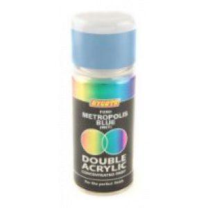 Hycote Ford Metropolis Blue Double Acrylic Spray Paint 150Ml Xdfd720-0