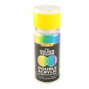 Hycote Fiat Golden Yellow Double Acrylic Spray Paint 150Ml Xdft701-0