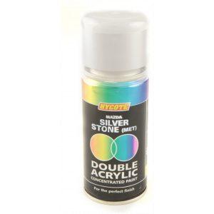 Hycote Mazda Silver Stone Metallic Double Acrylic Spray Paint 150Ml Xdmz401-0