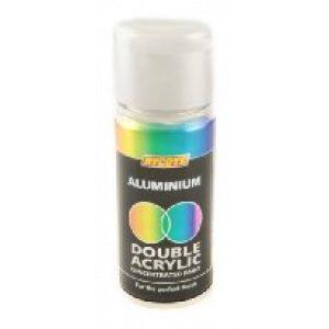Hycote Aluminium Double Acrylic Spray Paint 150Ml Xdpb909-0
