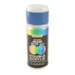 Hycote Peugeot Miami Blue Double Acrylic Spray Paint 150Ml Xdpg211-0