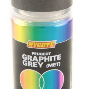 Hycote Peugeot Graphite Grey Metallic Double Acrylic Spray Paint 150Ml Xdpg403-0