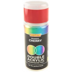 Hycote Peugeot Cherry Double Acrylic Spray Paint 150Ml Xdpg501-0