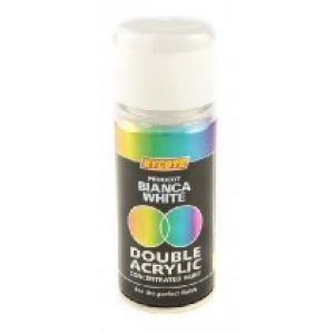 Hycote Peugeot Bianca White Double Acrylic Spray Paint 150Ml Xdpg604-0