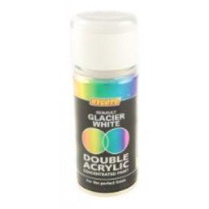 Hycote Renault Glacier White Double Acrylic Spray Paint 150Ml Xdrn603-0
