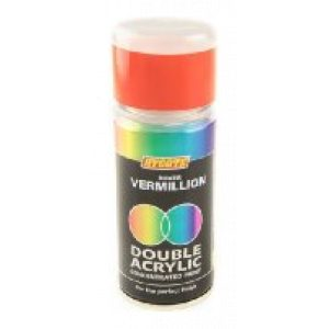 Hycote Rover Vermillion Double Acrylic Spray Paint 150Ml Xdrv514-0