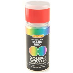 Hycote Volkswagen Mars Red Double Acrylic Spray Paint 150Ml Xdvw503-0