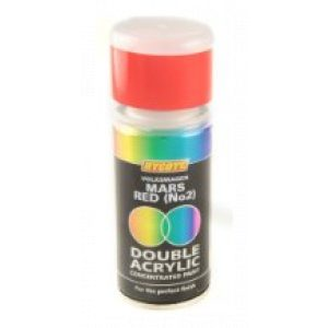 Hycote Volkswagen Mars Red No2 Double Acrylic Spray Paint 150Ml Xdvw504-0