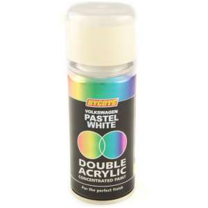Hycote Volkswagen Pastel White Double Acrylic Spray Paint 150Ml Xdvw602-0