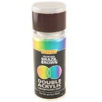 Hycote Vauxhall Brazil Brown Double Acrylic Spray Paint 150Ml Xdvx101-0