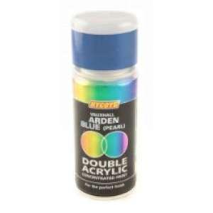 Hycote Vauxhall Arden Blue Metallic Double Acrylic Spray Paint 150Ml Xdvx220-0