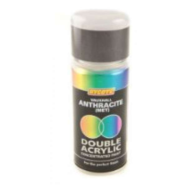 Hycote Vauxhall Anthracite Metal Double Acrylic Spray Paint 150Ml Xdvx415-0