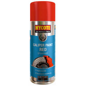 hycote caliper red spray paint