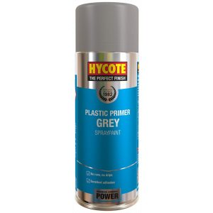 Hycote Grey Plastic Primer Spray Paint 400Ml Xuk612-0