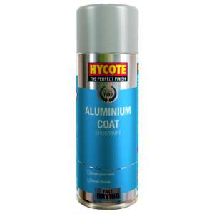 Hycote Aluminium Coat Spray Paint 400Ml (Pack Of 12) Xuk035-0