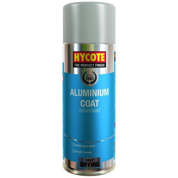 Hycote Aluminium Coat Spray Paint 400Ml Xuk035-0