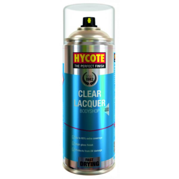 Hycote Bodyshop Clear Lacquer Spray Paint Xuk428-0