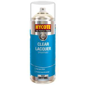 Hycote Clear Lacquer Spray Paint 400Ml Xuk0232