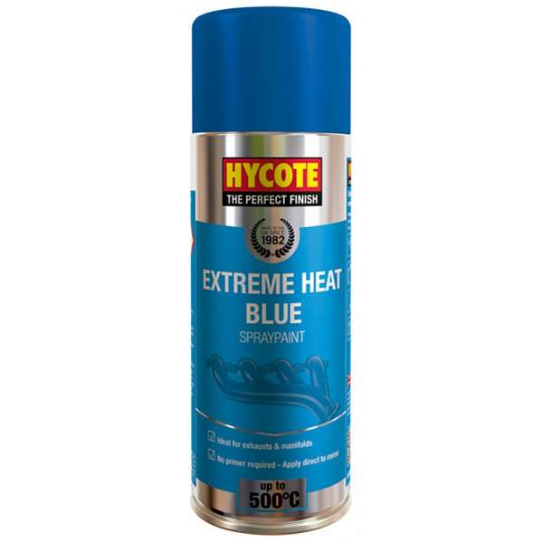Hycote Vht Blue Very High Temperature Spray Paint 400Ml Xuk1004-0