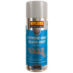 Hycote Vht Silver / Grey Very High Temperature Spray Paint 400Ml Xuk1009-0