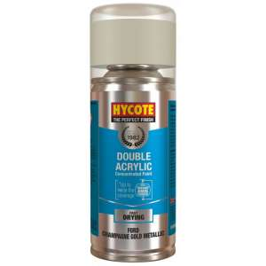 Hycote Ford Champagne Gold Metallic Double Acrylic Spray Paint 150Ml Xdfd702-0