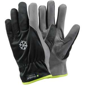 Tegera 322 Syn. Leather Winter Fleece Lined Thermal Work Gloves -0