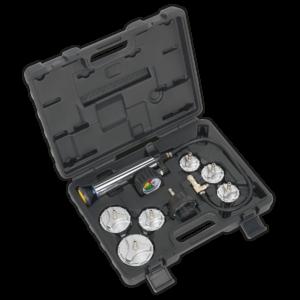 Sealey CV0011 Cooling System Pressure Test Kit 7pc - Commercial-0