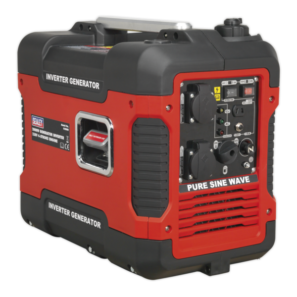Sealey G2000I Inverter Generator 2000W 230V 4-Stroke Engine-0
