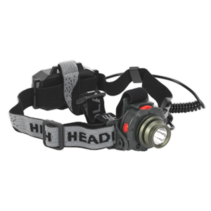Sealey HT106LED Head Torch 3W CREE LED Auto Sensor Rechargeable-0