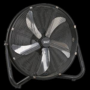 """Sealey HVF20 Industrial High Velocity Floor Fan 20"""" 230V-0"""