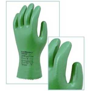 Marigold Flexiproof 27cm Green Nitrile Chemical Resistant Gloves-0